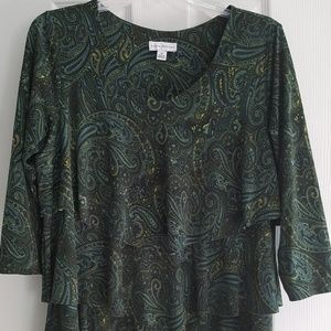 Women's Susan Graver top Size medium